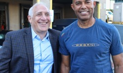 Yankee great Mariano Rivera joined Steiner Sports Marketing CEO Brandon Steiner to assist disaster victims in Puerto Rico, Mexico and the Caribbean.