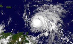 Hurricane Maria grows to Category 3, threatens storm-battered Caribbean. NWS