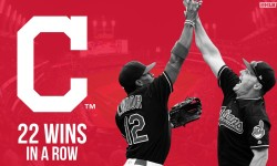 Indians set MLB record in win over Royals