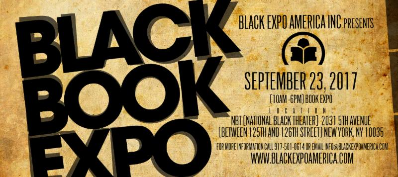 1st Annual New York Black Book Expo will be held on Saturday, September 23