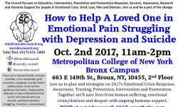 SISFI Meeting: How to Help a Loved One in Emotional Pain – October 2