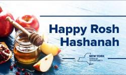 """Cuomo: """"Happy Rosh Hashanah"""""""