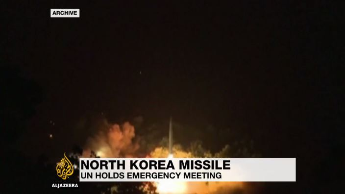 North Korea nuclear missile test