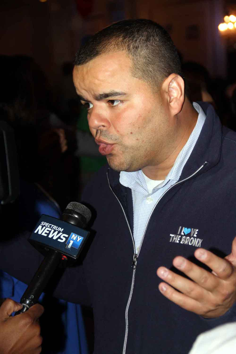 Assemblyman Luis Sepulveda talks politics after Tuesday's Primary election.--Photo by David Greene