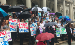 After City Misses September 1 Deadline to Identify Space for Public Charter Schools, More Than 100 Parents and Charter Leaders Rally at City Hall