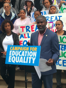 """Mayor de Blasio needs to act now to show he will support the children that want to attend our schools,"" said Ian Rowe, CEO of Public Prep."