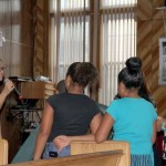 Youngsters attend the Yogi-Bear Sunday School at the Iglesia Jennings Alianza Christina Church.--Photo by David Greene