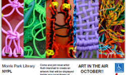 Art in the Air October at Morris Park Library