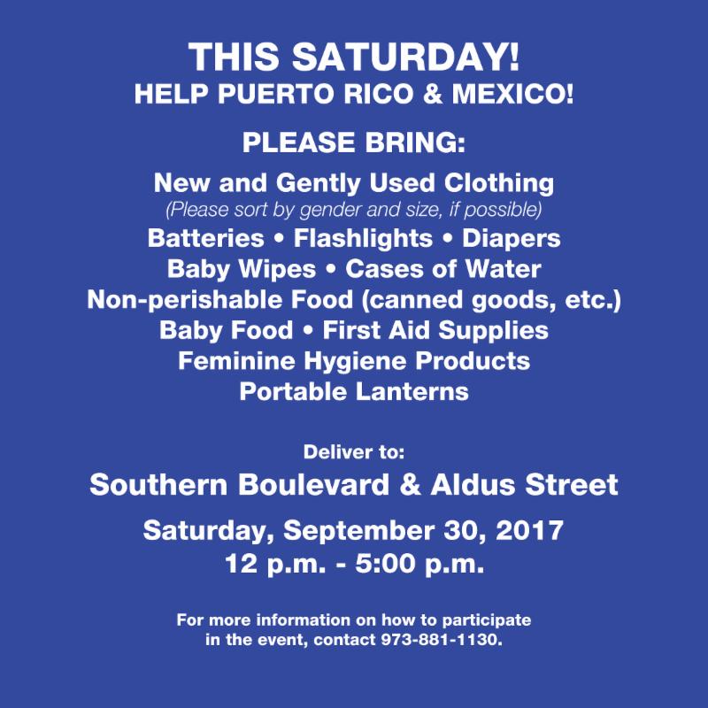Help Puerto Rico & Mexico!