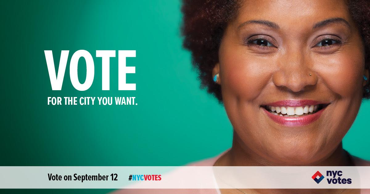 NYC Votes!
