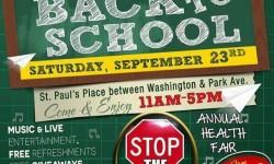 HealthFirst & C.S. 55 Host Back to School Event, 9/23
