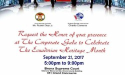 Bronx Borough President Ruben Diaz Jr. Celebrates Ecuadorian Heritage, 9/21