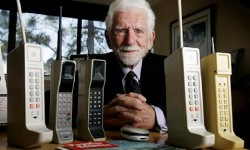 World's First Cellphone Call - April 3 1973 by Martin Cooper. (YouTube)