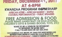 Parckchester's Annual Kwanzaa Celebration