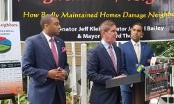 Senator Klein Fights Back Against 'Nightmare Neighbors'