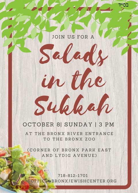 Salads in the Sukkah (1)