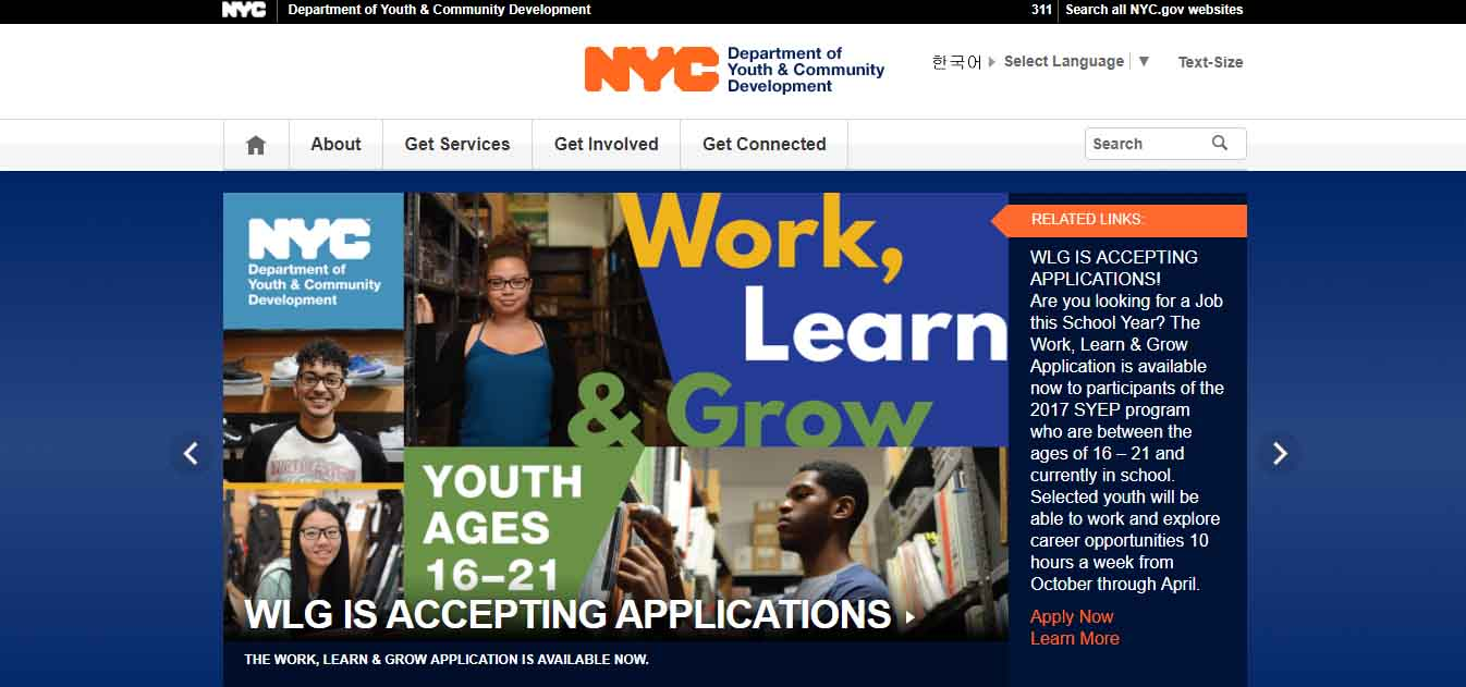 Work Learn Amp Grow Employment Program Apply For Summer