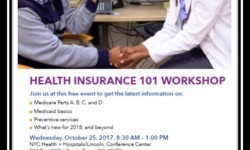 FREE Health Insurance 101 Workshop at Lincoln Medical Center