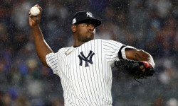 Luis Severino: 7 IP, 4 H, 3 R, 1 BB, 9 K. (113 pitches, 76 strikes) Twitter