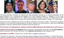 Bronx Chamber of Commerce Salutes Five Veteran Heroes