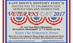 Celebrate Veterans Day at Van Nest Memorial – November 11