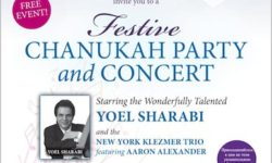 Festive Chanukah Party and Concert – December 17