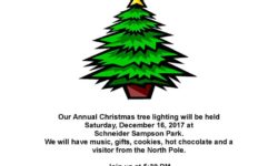 Waterbury LaSalle Community Association Christmas Tree Lighting – December 16