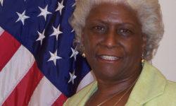 Retiring Bronx Deputy Borough President Aurelia Greene.