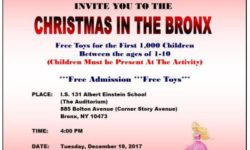 Sen. Diaz Annual Christmas in The Bronx Celebration, Dec. 19