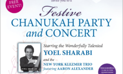 Free Chanukah Party & Concert, 12/17