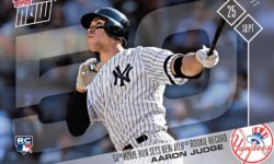 Aaron Judge. Topps All-Star Rookie Team 2017