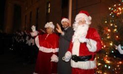 On Thursday, December 7, 2017, Bronx Borough President Ruben Diaz Jr. hosted the borough's annual Christmas tree at The Bronx County Building. Credit: Office of the Bronx BP