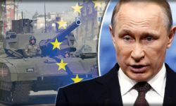 Russian President Vladimir Putin has taken issue with NATO.