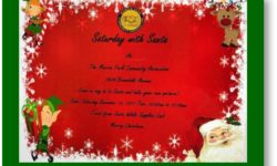 """Saturday With Santa"" at MPCA Community Center – December 16"