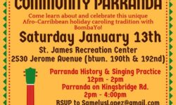 Kingsbridge Octavitas Community Parranda – January 13
