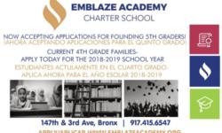 2018/2019 Emblaze Academy Charter School: Recruitment Support