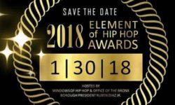 2018 Element of Hip Hop Awards