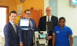 Rep. Joe Crowley Impressed with Local Health Tech Innovation in Bronx Nursing Home