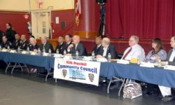 NYPD COMMISSIONER VISITS PELHAM BAY