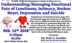Understanding and Managing Emotional Pain: SISFI Workshop – February 12