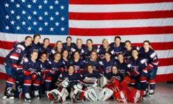 Gold medal-winning Team USA Women's Ice Hockey. teamusa.usahockey.com