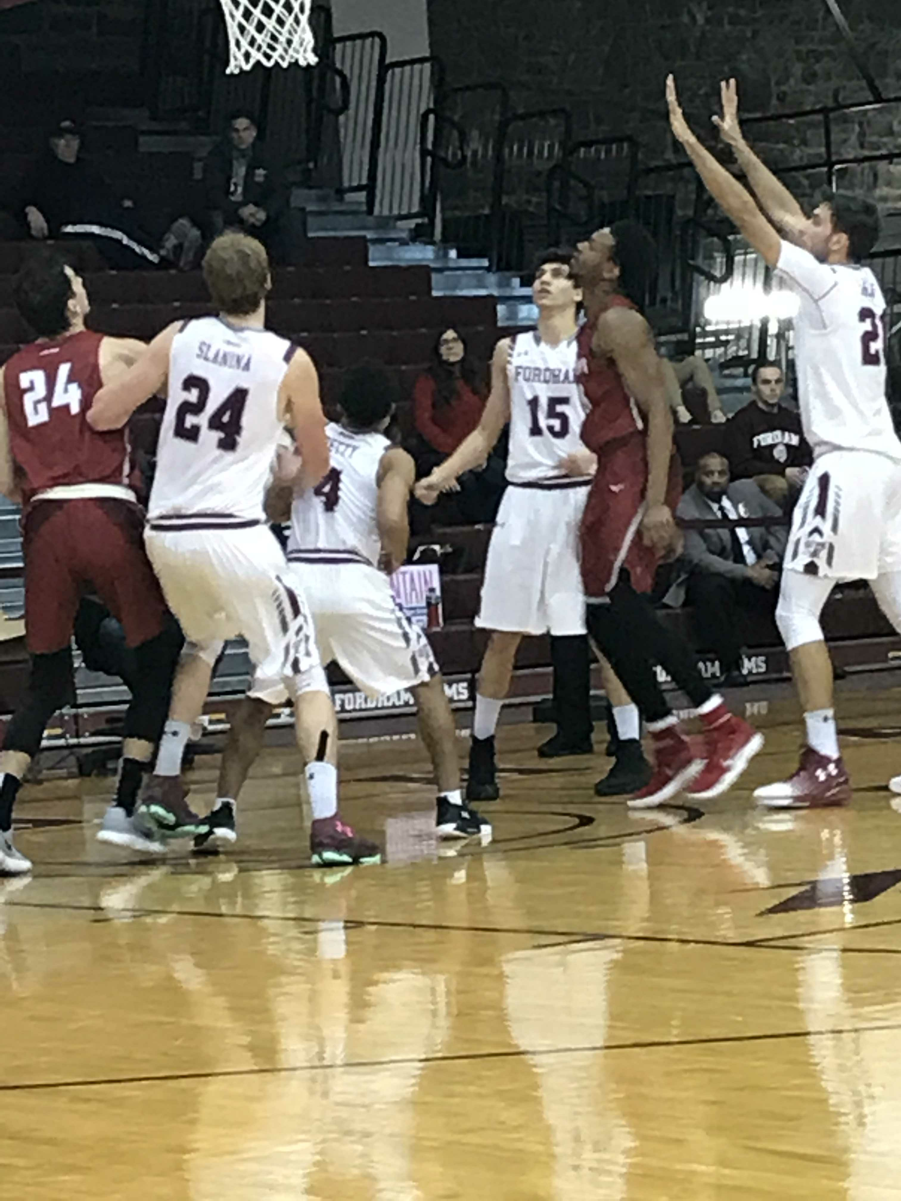 Stretch Run Will Dictate For Fordham Rams