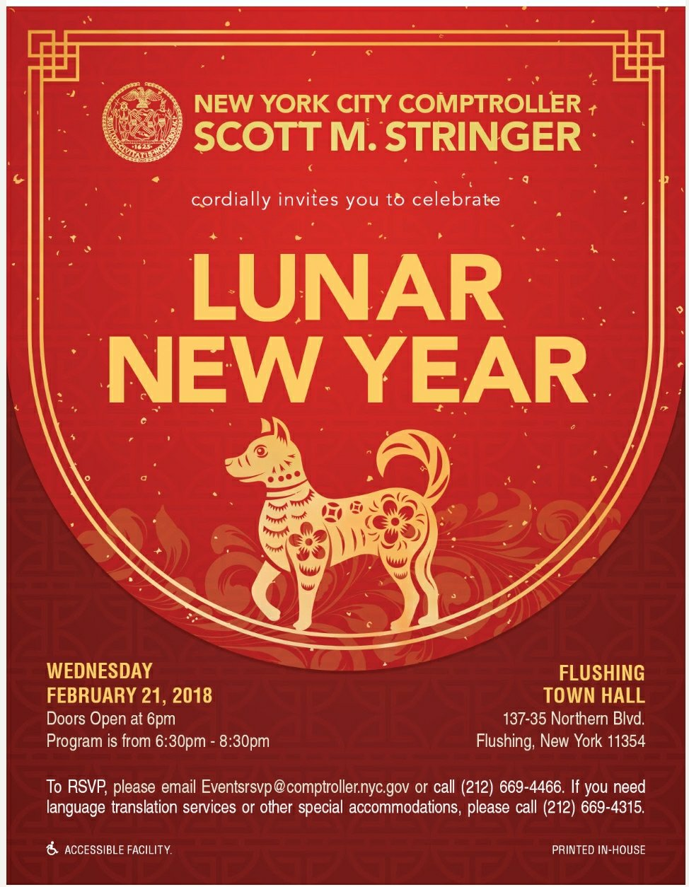 Celebrate Lunar New Year, February 21
