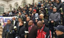 NYC TAXI DRIVERS AND TAXI-BASE OWNERS HELD MORNING VIGIL AT CITY HALL AND CALLED FOR THOROUGH REVIEW AND REFORM OF TLC'S ABUSIVE PRACTICES