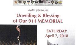 Unveiling of 9/11 Memorial in Throgs Neck – April 7