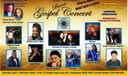 SECOND ANNUAL BRONX GOSPEL CONCERT - APRIL 7TH