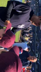 Parkland Kids Visit Yankees