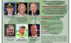 Bronx Chamber of Commerce Irish Heritage Celebration Luncheon – March 15