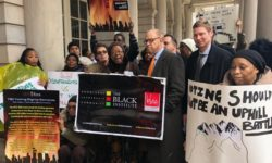 BLAC, The Black Institute, Elected Officials and Advocates Rally Against Board of Elections Appeal of LeFrak Voting Rights Ruling