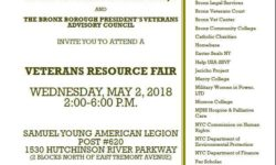 Veterans Resource Fair – May 2